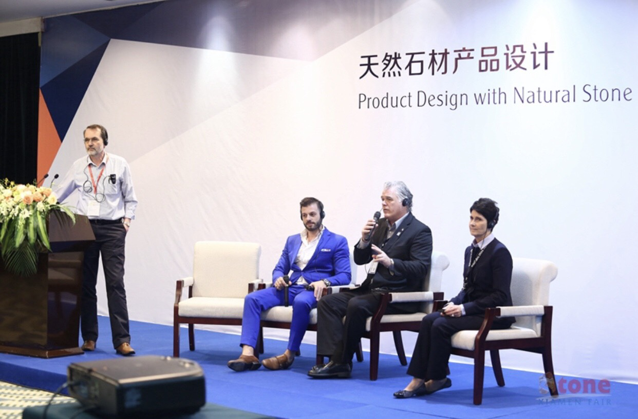 "2018 | ""Handmade lamps using local marble"" lecture in Xiamen"