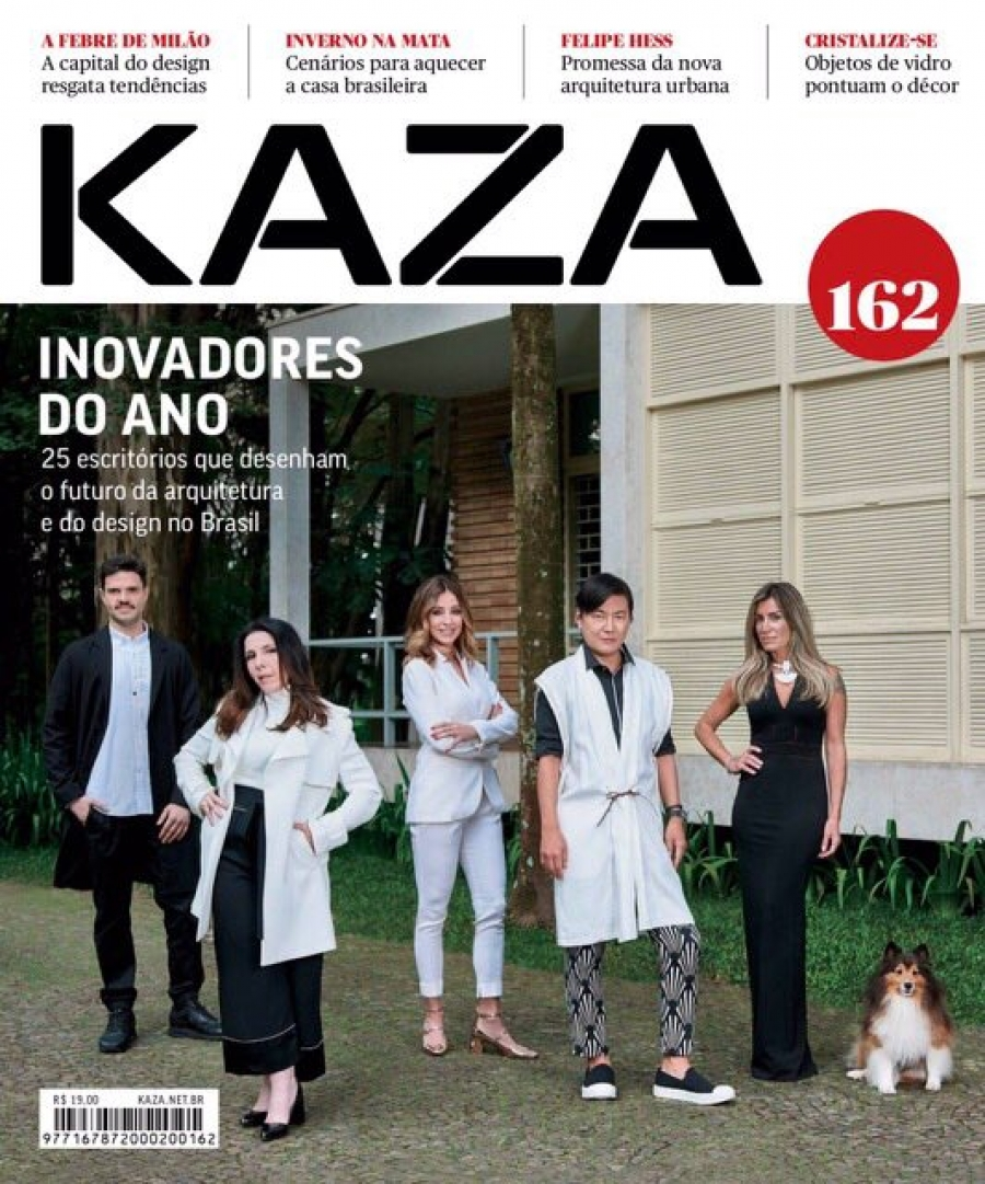 "2017 | KAZA magazine issue 162, Brazil ""Milan top 10"""