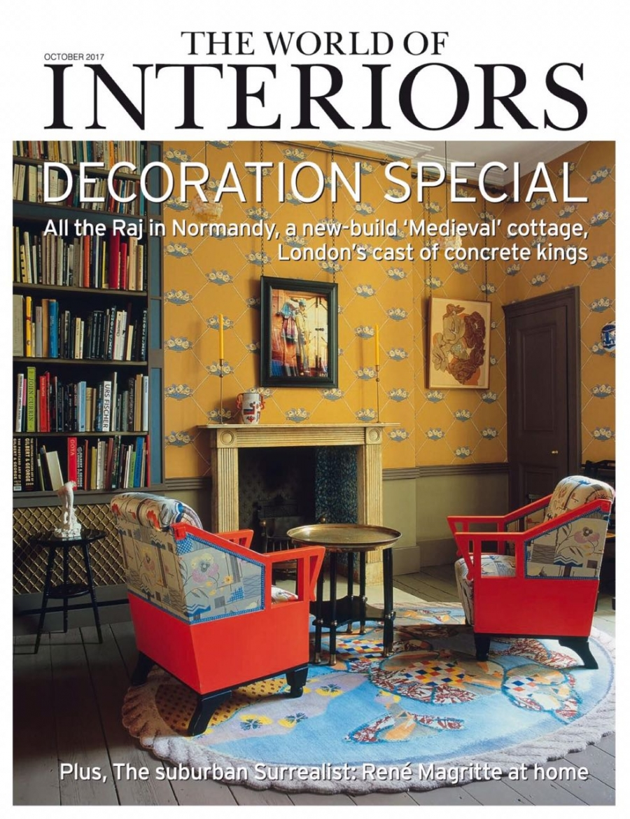"2017 | ""The write stuff"" The World Of Interiors magazine October issue, United Kingdom"